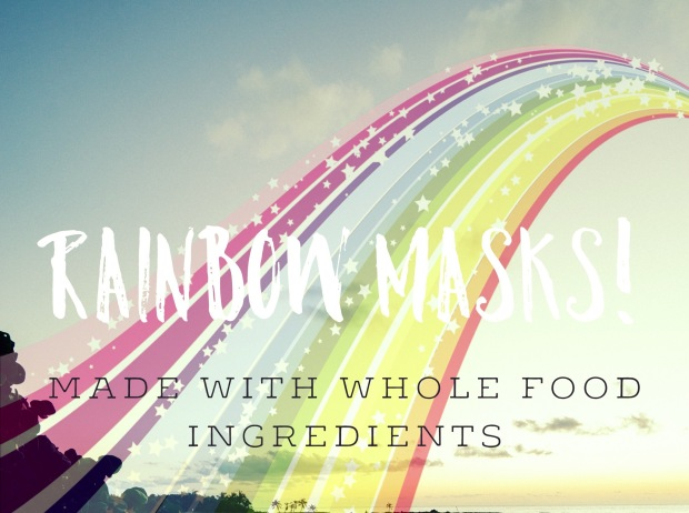 Rainbow Masks! Where The Kale Grows